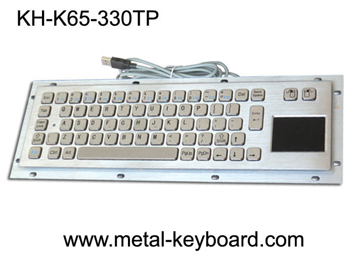 Customisable Info - Kiosk Keyboard with touchpad Industrial Pointing Device